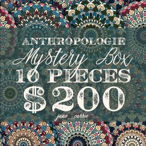 NEW Anthropologie Reseller Mystery Box 10 Items